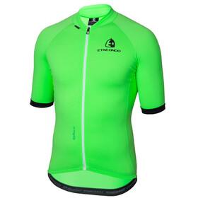 Etxeondo Entzun Fietsshirt korte mouwen Heren groen